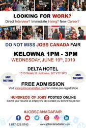 Kelowna Job Fair - May 19th,  2019